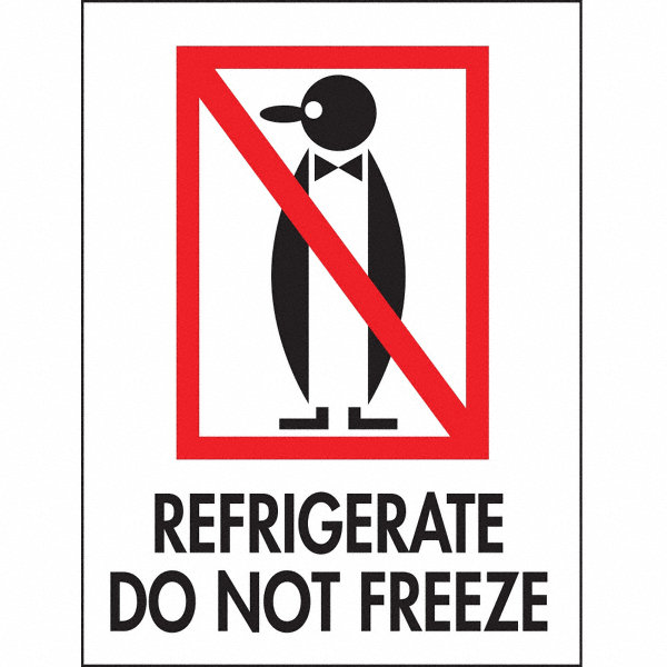 Tapecase shipping labels refrigerate do not freeze legend for General motors extended warranty plans