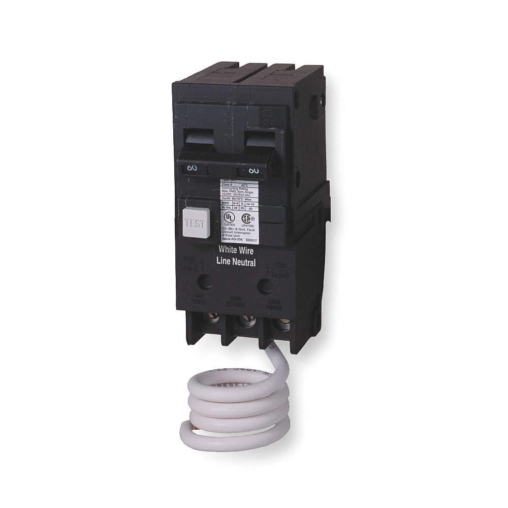 SIEMENS Plug In Circuit Breaker, QF, Number of Poles 2, 60 Amps, 120 ...