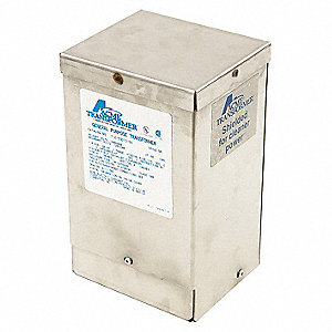 Single Phase Harsh Environment Transformer, 120VAC, 240VAC Output, 240VAC, 480VAC Input