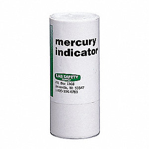 Mercury Indicator Powder,9 oz.
