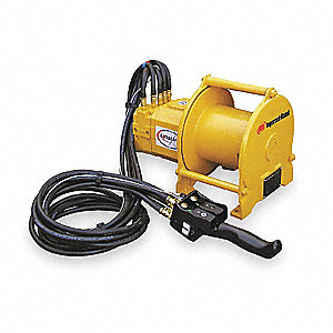Air Winch w/Remote,1724 lb Max Pull