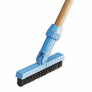 SWIVELTILE+GROUTBRUSH,1IN,BLK,BL,7-