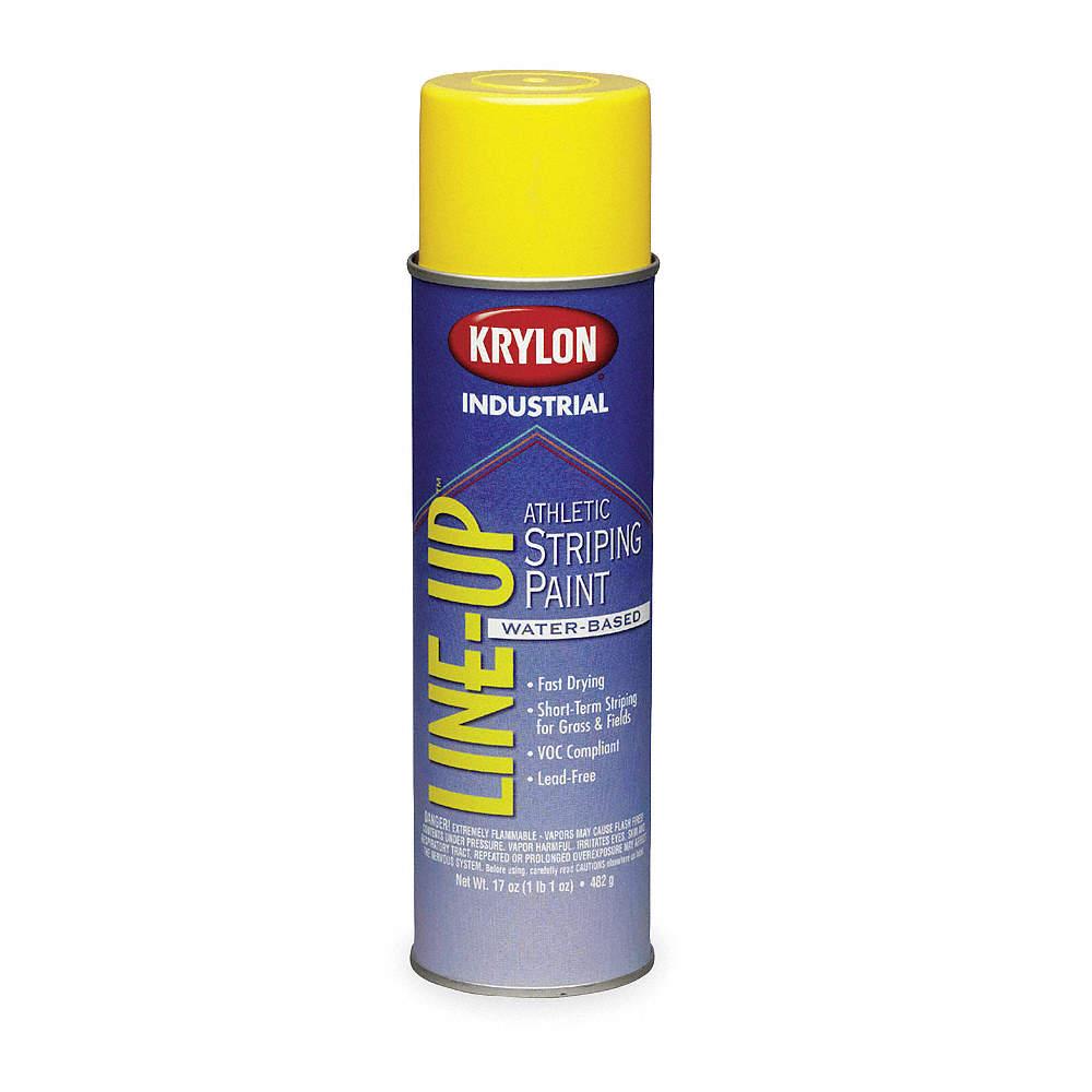 KRYLON Solvent, Highway Yellow - 3CPN5 K08301 - Grainger