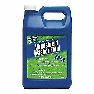 Wndshd Washer,Concentrate,1 gal.,Blue