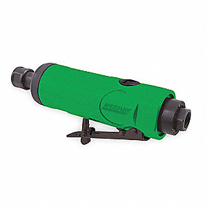 "6-1/2"" General Duty Straight Air Die Grinder, 0.5 HP"