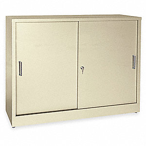 Storage Cabinet, 22 ga., 29 In. H, 36 In. W