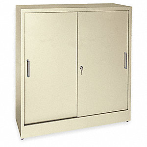 Storage Cabinet, 22 ga., 42 In. H, 36 In. W