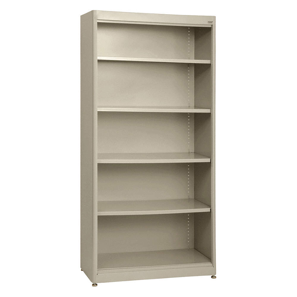 shelf bookcases depth cherry height x p inch width bookcase corsica veneer mayline wood sierra series