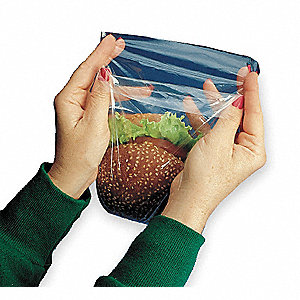 SANDWICH BAG,7 X 7 IN.,PK 1000