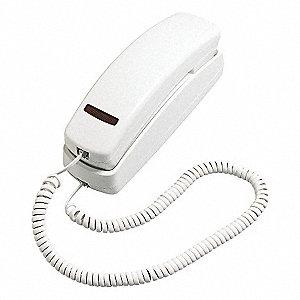 TRIMLINE PHONE, WHITE