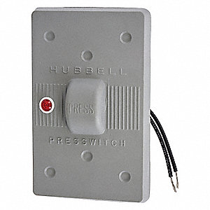 Weatherproof Wall Plate,1 Gang,Gray