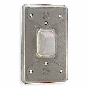 hubbell wiring device kellems weatherproof wall plate gray number rh grainger com Hubbell Premise Wiring Hubbell Wiring Devices Spec-Sheets