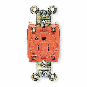 RECEPTACLE,SINGLE,15A,125V,OR,SPEC