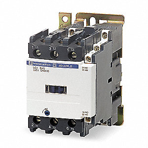 IEC Magnetic Contactor, 24VDC Coil Volts, 40 Full Load Amps-Inductive, 1NC/1NO Auxiliary Contact For