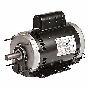 5 HP Belt Drive Motor, 3-Phase, 3450 Nameplate RPM, 208-230/460 Voltage, Frame 56HZ