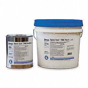 Floor Coating,2 gal,Light Gray