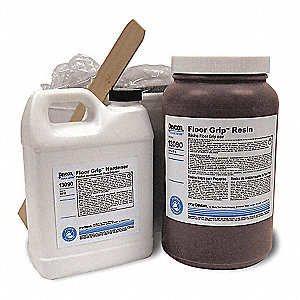 Floor Coating,2 gal,Black,Epoxy,Hi-Gloss