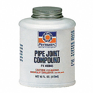 Pipe Joint Compound,16 oz.,Black