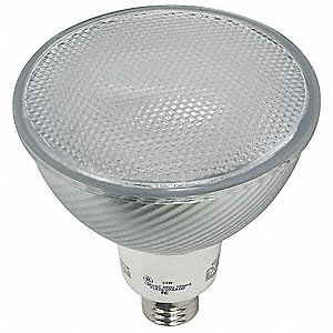 "5-1/2"" Soft White PAR38 Screw-In CFL, 23 Watts, 1185 Lumens"