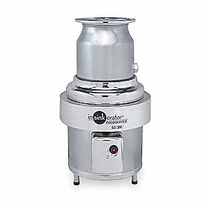 3 HP Garbage Disposal, 208-230/460 Voltage