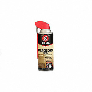 Garage Door Lubricant,Aerosol Can,11 oz.