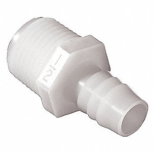 GARDEN HOSE ADAPTER,1/2 IN BARB,PK