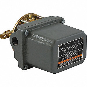 Vertical Open Tank Alternator Liquid Level Switch, Close On Rise, 5-1/8""