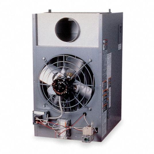 DAYTON Unit Heater, NG, 120, 000 BtuH, 20-5/8Wx36D - 3E371 3E371 - GraingerGrainger