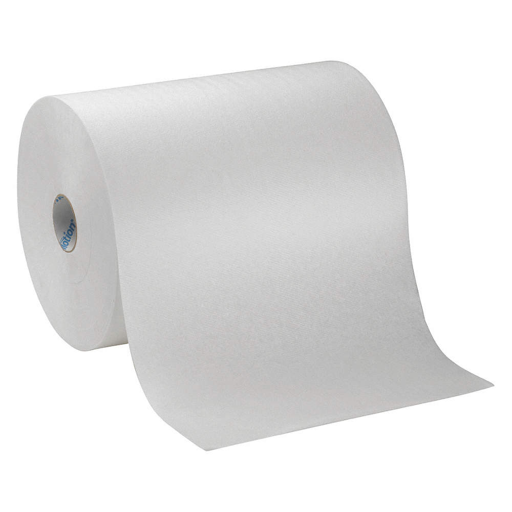 Paper Towel. Zoom Out Reset  Put photo at full zoom then double click GEORGIA PACIFIC Roll Hardwound 10 800 ft White PK6 3EB46 89460