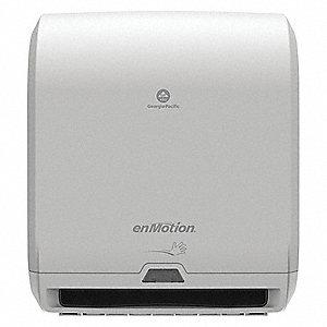 enmotion proprietary hardwound automatic paper towel dispenser gray - Paper Towel Dispenser