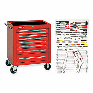SAE and Metric Master Tool Set, Number of Pieces: 271, Primary Application: General Purpose