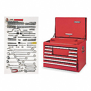 SAE Master Tool Set, Number of Pieces: 126, Primary Application: General Purpose