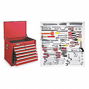 MAINTENANCE SET 164PC INTERMED W/BX