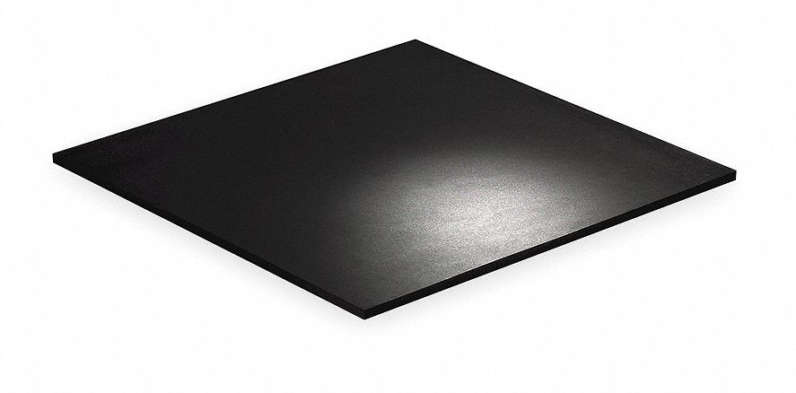 Vibration Isolation Pad Sheets,  Neoprene,  116 psi Max. Steady Load,  19 11/16 in Length