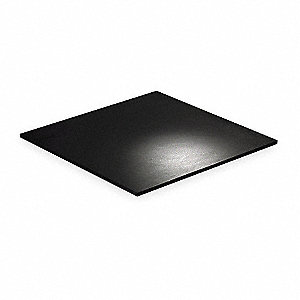 "Vibration Isolation Pad Sheets,  Neoprene,  87 psi Max. Steady Load,  19-11/16"" Length"