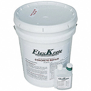 Clear Concrete Repair Compound, 5 gal. Size, Coverage: 3.3 cu. ft.
