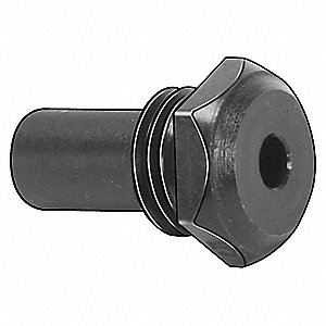 Nosepiece,1/8 In,Steel,Use with 3EHT3