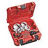 """Kit de Sierra Perforadora para Electricistas para Metales, Número de Piezas 10, Rango de Tamaños de Sierra: 7/8"""" a 2-1/2"""""""
