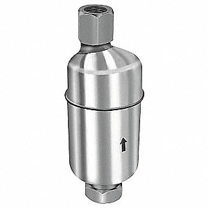 "1/2""  Vent Dia. Stainless Steel Automatic Vent Valve, 3/4"" Inlet Size"