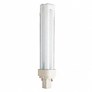Plug-In CFL,Non-Dimmable,3500K,18W