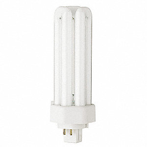 "5-3/4"" Cool T4 PL Plug-In CFL, 32 Watts, 2400 Lumens"
