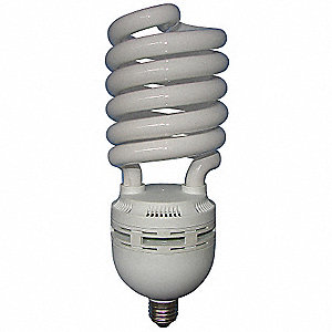 85 Watts  Screw-In CFL, Spiral, Medium Screw (E26), 4800 Lumens 6500K Bulb Color Temp.
