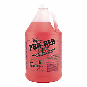 Liquid Condenser Cleaner, 1 gal., Red Color, 1 EA