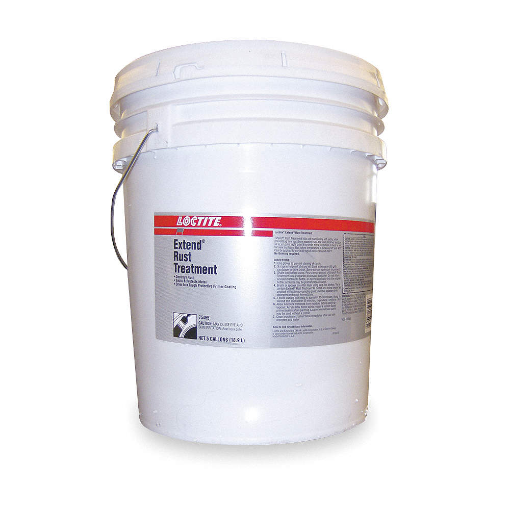 Loctite Opaque Rust Treatment 5 Gal Container Size 3epr1234984