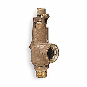 SAFETY VALVE,1 X 1 1/4 IN,MNPT X FN