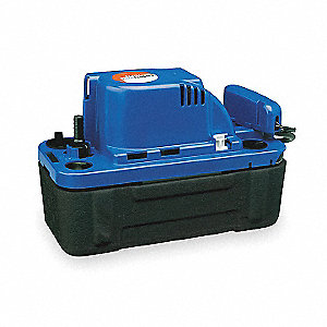 115V Vertical 1/30 HP Condensate Pump, 1.5 Amps