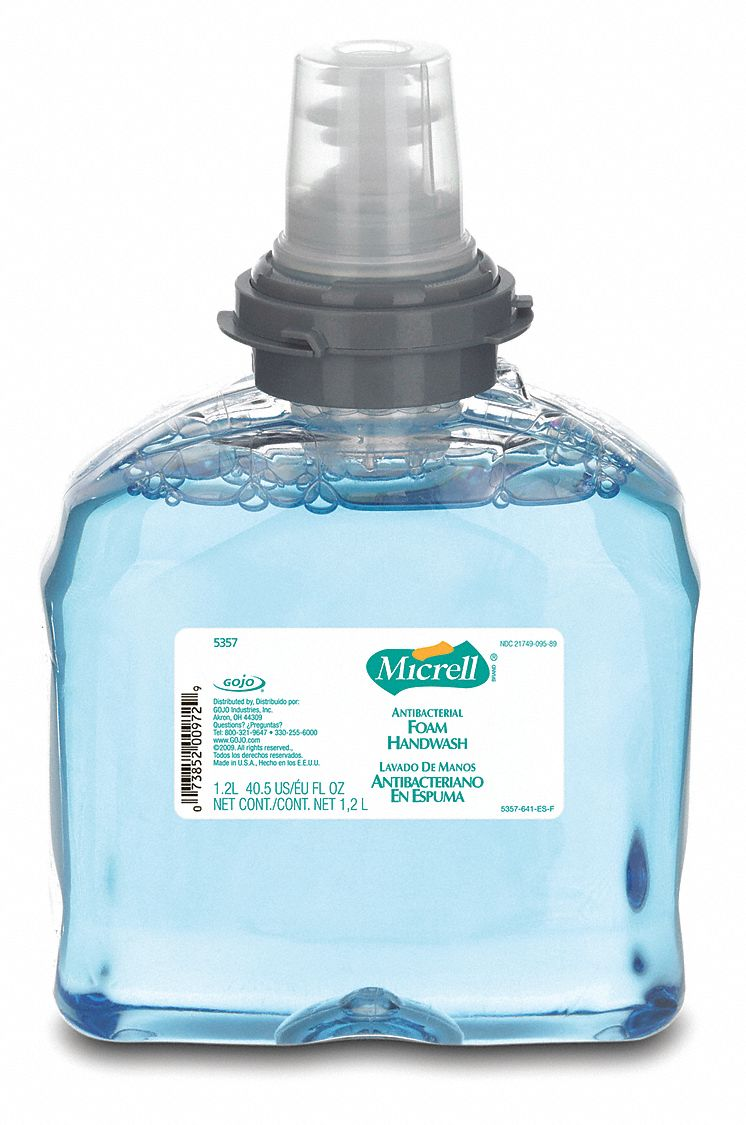 Pleasant Floral,  Foam,  Hand Soap,  1,200 mL,  Cartridge,  TFX™,  PK 2