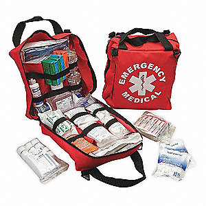Emergency Medical Kit,Red,25 People