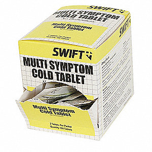 Cold and Flu, Tablet, 50 x 2, Regular Strength, Acetaminophen