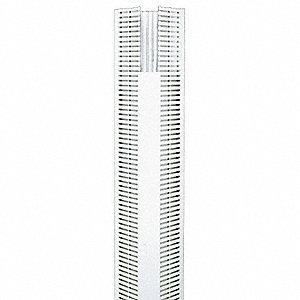PANDUIT Corner Wiring Duct, White, 6 ft. Length, 4.40